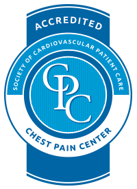 Our Chest Pain Center is Accredited
